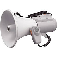 【CAINZ DASH】TOA 中型ショルダー型メガホン ホイッスル音付き