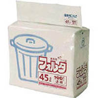【CAINZ DASH】サニパック F−4C環優包装45L透明 (1袋(PK)=100枚入)