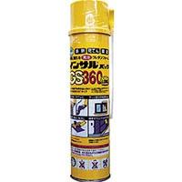 【CAINZ PRO】ABC 一液型簡易発泡ウレタン(ノズル充填タイプ)GS360570g GS360L