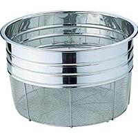 【CAINZ DASH】スギコ ステンレス食器洗浄カゴ 275×275×195 3升