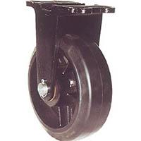 【CAINZ DASH】ヨドノ 鋳物重量用キャスター 許容荷重656.6 取付穴径15mm