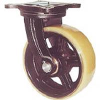 【CAINZ DASH】ヨドノ 鋳物重量用キャスター 許容荷重1225 取付穴径15mm