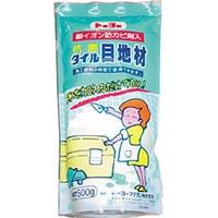 【CAINZ DASH】MATERAN S抗菌タイル目地材 白 0.5kg (1個入)