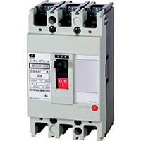 【CAINZ DASH】河村電器 分電盤用ノーヒューズブレーカ 定格50A幅75mm