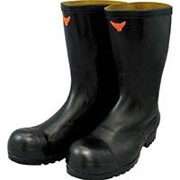 【CAINZ DASH】SHIBATA 安全耐油長靴(黒)