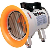 【CAINZ DASH】スイデン 送風機(軸流ファン)ハネ200mm単相100V低騒音省エネ