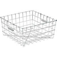 【CAINZ DASH】スギコ 18−8食器洗浄篭 手提付 400×370×195