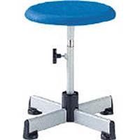 【CAINZ DASH】ノーリツ ブロー成型座回転椅子 青