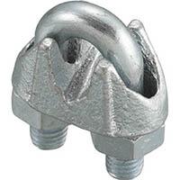 【CAINZ DASH】ニッコウ ワイヤークリップ (鋳鉄製) (2個入)