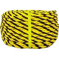 【CAINZ DASH】ユタカメイク ロープ 標識ロープ巻物 12φ×100m