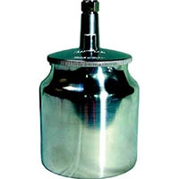 【CAINZ DASH】デビルビス 吸上式塗料カップアルミ製(容量700CC)G1/4