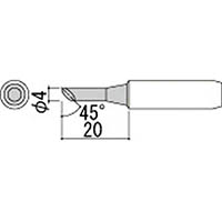 【CAINZ DASH】白光 こて先 4C型