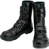 【CAINZ DASH】シモン 安全靴 マジック式 8538黒 24.5cm