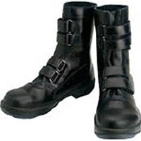 【CAINZ DASH】シモン 安全靴 マジック式 8538黒 25.0cm