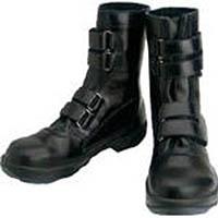 【CAINZ DASH】シモン 安全靴 マジック式 8538黒 25.5cm