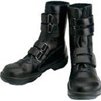 【CAINZ DASH】シモン 安全靴 マジック式 8538黒 26.5cm