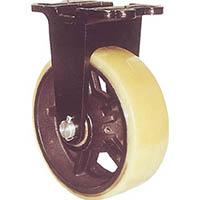 【CAINZ DASH】ヨドノ 鋳物重量用キャスター 許容荷重656.6 取付穴径13mm