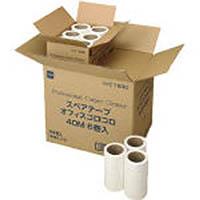 【CAINZ DASH】ニトムズ STオフィスコロコロ40M (6巻入)
