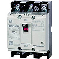【CAINZ DASH】河村電器 分電盤用ノーヒューズブレーカ 定格10A 幅45mm