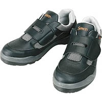 【CAINZ DASH】シモン プロスニーカー 短靴 8818ブラック 25.5cm