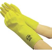 ショーワ SD-1000耐溶剤用手袋 LLサイズ イエロー SD1000LL