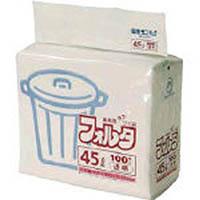 【CAINZ DASH】サニパック F−9C環優包装90L透明 (1袋(PK)=100枚入)