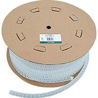 【CAINZ DASH】パンドウイット 電線保護チューブ スリット型スパイラル パンラップ 束線径18.3Φmm 30m巻き ナチュラル PW75F−C