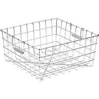 【CAINZ DASH】スギコ 18−8食器洗浄篭 手提付 400×300×195