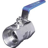 【CAINZ DASH】イノック ねじ込みボールバルブ 全長83.0mm 呼び径(A)40