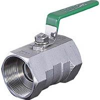 【CAINZ DASH】イノック ねじ込みボールバルブ 全長39.0mm 呼び径(A)8