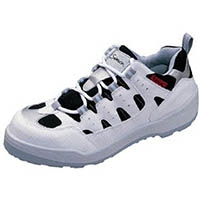 【CAINZ DASH】シモン プロスニーカー 短靴 8800白/黒 25.0cm