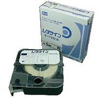 【CAINZ DASH】MAX チューブマーカー レタツイン テープカセット5mm幅 白