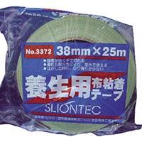 【CAINZ DASH】スリオン 養生用布粘着テープ38mm ライトグリーン