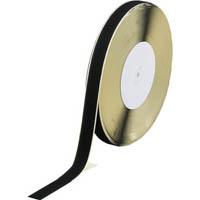 【CAINZ DASH】TRUSCO マジックテープ 糊付A側 幅25mmX長さ25m 黒