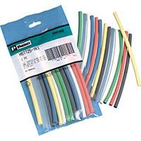 【CAINZ DASH】パンドウイット 熱収縮チューブ カラーコンビネーションパック 1S(袋)=8本入
