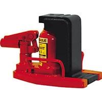 【CAINZ DASH】イーグル 低床・レバー回転・安全弁付爪つきジャッキ 爪能力3t
