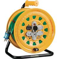 【CAINZ DASH】TRUSCO プロソフトケーブルコードリール 30m 漏電防止付き