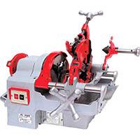 【CAINZ DASH】REX 自動切上ダイヘッド付パイプマシン S40A3(ステンレス管仕様)
