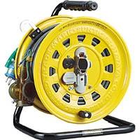 【CAINZ DASH】ハタヤ 逆配電型コードリール マルチテモートリール単相100Vアース付47+6m