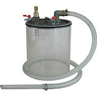 【CAINZ DASH】アクアシステム 液体専用エア式掃除機 オイル用オープンペール缶専用ポンプ