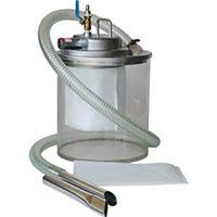 【CAINZ DASH】アクアシステム エア式掃除機 乾湿両用クリーナー(オープンペール缶用)