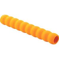 【CAINZ DASH】TRUSCO 台車用グリップ 内径約22X250 オレンジ