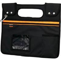 【CAINZ DASH】TRUSCO 楽チン台車バッグ マグネット取り付け型 ブラック
