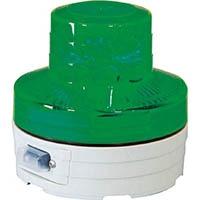 【CAINZ DASH】日動 電池式LED回転灯 ニコUFO 常時点灯タイプ 緑