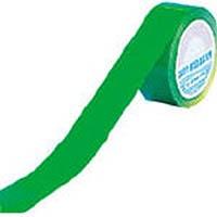【CAINZ DASH】緑十字 ラインテープ(ガードテープ) 緑 再剥離タイプ 50幅×20m 屋内用