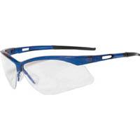 【CAINZ DASH】TRUSCO 二眼型セーフティグラス フレームブルー
