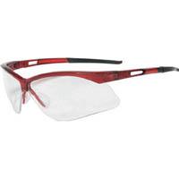 【CAINZ DASH】TRUSCO 二眼型セーフティグラス フレームレッド