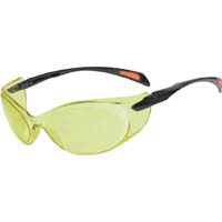 TRUSCO 二眼型セーフティグラス ゴーグルタイプ レンズイエロー TSG814Y