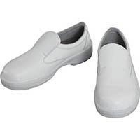 【CAINZ DASH】シモン 静電安全靴 編上靴 7522黒静電靴 23.5cm