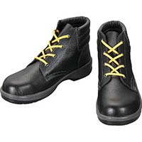 【CAINZ DASH】シモン 静電安全靴 編上靴 7522黒静電靴 24.5cm